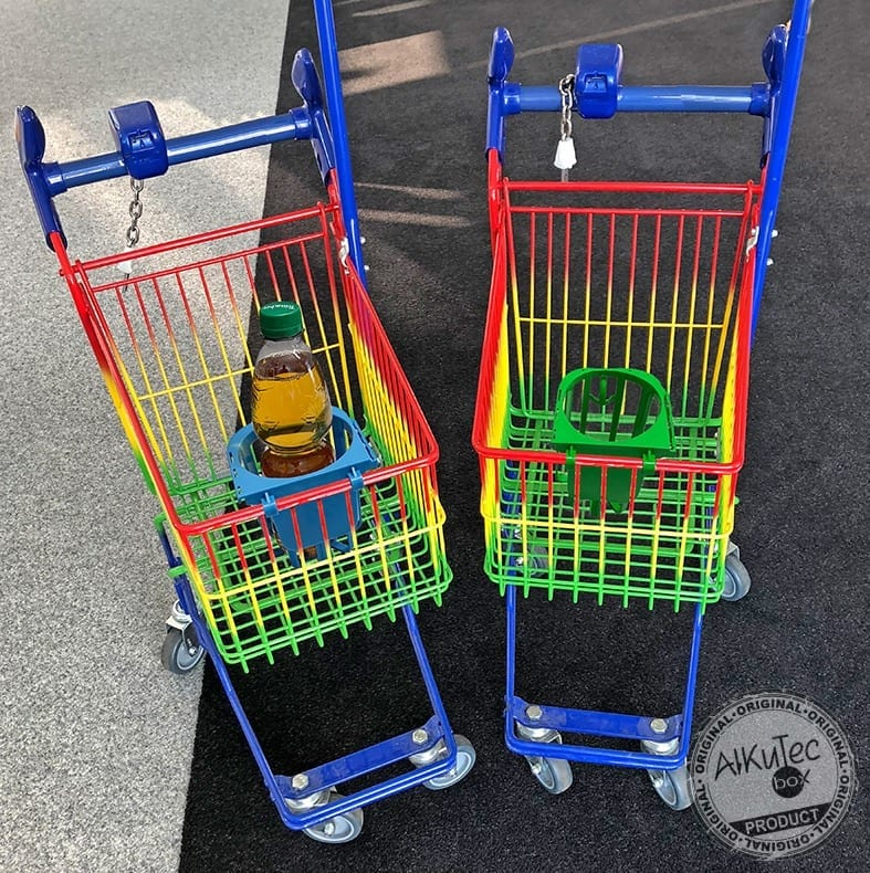 Kiddy Wagen Retusche