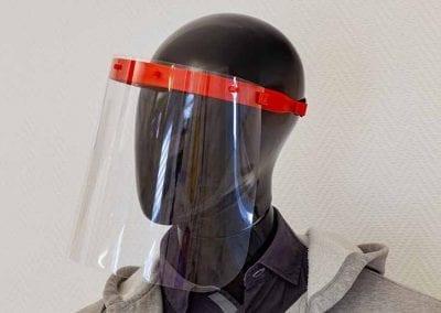 Gesichtsschutz Visier